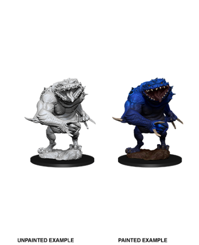Blue Slaad: D&D Nolzur's Marvelous Unpainted Miniatures